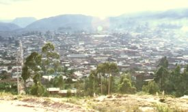 Chachapoyas Amazonas Peru - View over city